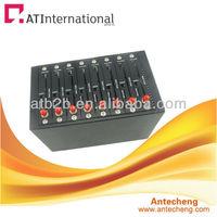 bulk sms 8 port gsm modem GSM/GPRS Wavecom Q2303 Chipset