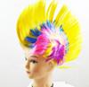 Fashion new yellow short mohawk wig hot sale festival pub fancy dress costume wigs W4039