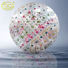 Fwulong inflatable land zorbing ball, mini zorb ball, snow zorb ball for sport games