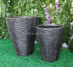 Garden plant pot / clay flower pot wholesale / fiberglass planter