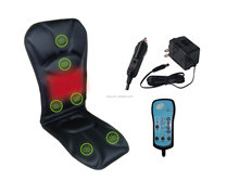 Sojoy Heating Massage Car Seat Cushion/2 in 1 Car&Office Chair Seat Cushion