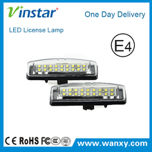 Racing Dash LED License Plate Lamp led registration mark lamp for Toyota Camry / Aurion/ Avensis verso/ Echo/ Prius/lexus
