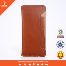 Wallet leather case for iphone 6 With removable card wallet , phone case wallet