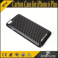 Sales Promotion carbon mobile phone covers for iPhone 6 /6+ Plus with AMG LOGO