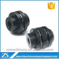 cnc machine steel diaphragm flexible shaft coupling