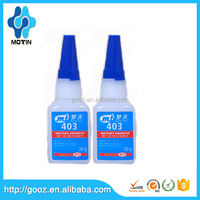 low odor and low blooming properties Loctit equivalent 403 prism cyanoacrylate adhesive