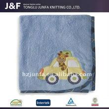 Guaranteed quality children super soft printed fleece blanket