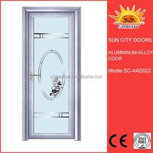 Light weight hot selling aluminum door for rooms SC-AAD022