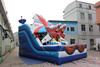 Super airplane inflatable dry slide