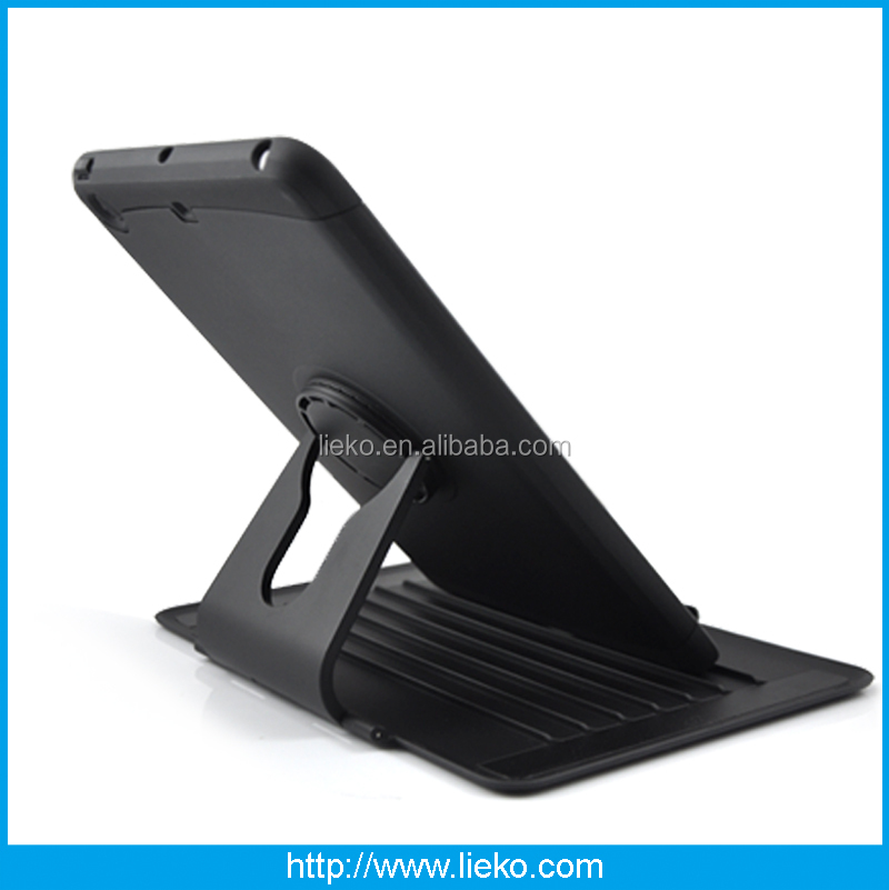 New design kickstand rotatable combo case for Ipad mini/mini2