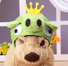 Crown Lovely Design Plush Animal Dog Hat Cap