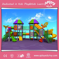 School Children Outdoor Used Playground