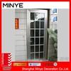 safety door design with grill glass design/House design aluminum door