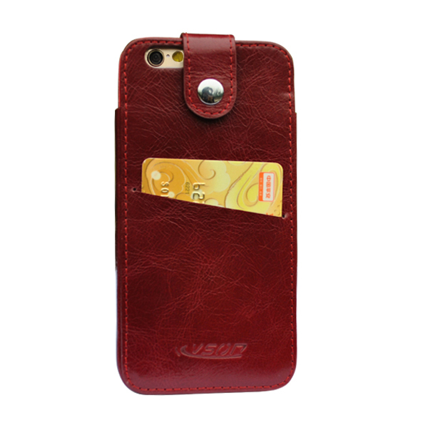 Mobile accessory case from Kingsant factory,for iphone 6 leather case, for iPhone 6 case