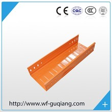 Steel hdg type trough type cable tray For ships and buildings Professional factory