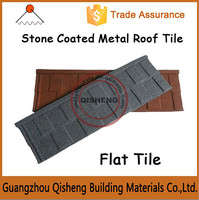 Steel shingle and zinc roof tile for villa used stone coated metal roof tile