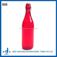 250ml 500ml 1 liter airtight swing top glass bottles