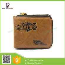 2015 New Arrival Best-Selling casual genuine leather men wallet