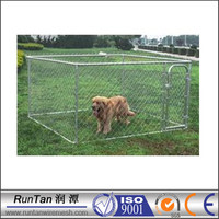 cheap large chain link dog kennel wholesale (factory)