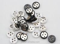 New fashion alloy button eyelet jacket button shirt button