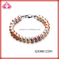 perl beads latest design wholesale fashion bracelets penis jewelry (QXBR12285)