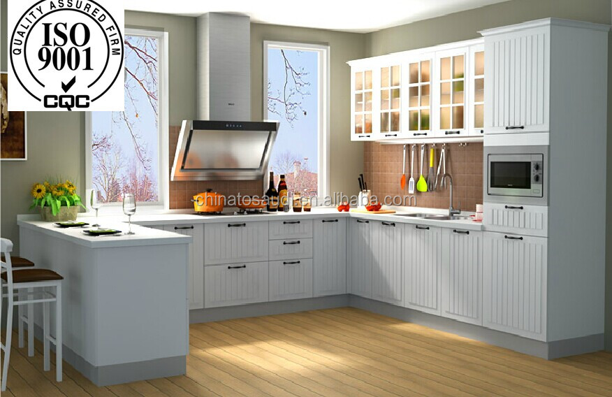 Modern kitchen cabinets container set full container for Full set kitchen