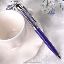 engraved ipad stylus pen colorful Barrel metal ball pen for gift stylus pen