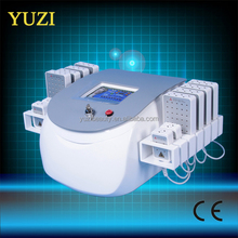 2015 top sell portable lipo laser with 650 nm & 940 nm for Cellulite reduction