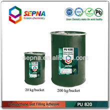 Single component water-proof polyurethane filling adhesive for contraction joint PU820