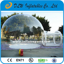 PVC Bubble Inflatable Yard Tent Transparent Camping Tent/Hot Large Inflatable tent, inflatable bubble tent, inflatable lawn tent