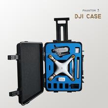 Waterproof Heavy Duty Carrying Case with Foam for DJI phantom3 Drones