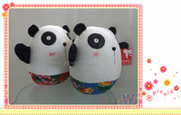 good design! panda and bearcat shaped pillow cushion 40cm