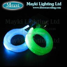 "fiber optic ceiling light twinkle vivid starry light ""near+far""effect fiber .10w light source with 6 color changing"