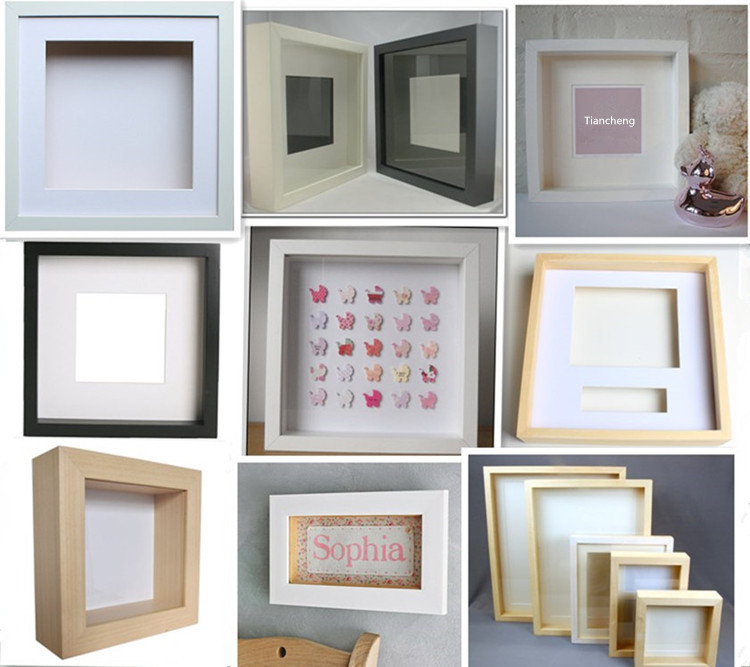 White Shadow Box Frames Wholesale,Wood Deep Shadow Box,Shadow Box ...