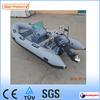 (CE) 470 boat v deep hull rib fiberglass fishing boat with optional outboard motor