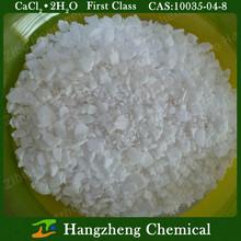 Antifreeze Calcium Chloride Dihydrate CaCl2.2H2O Industrial Grade