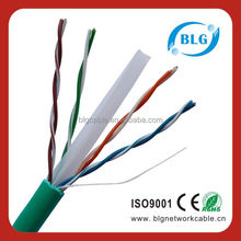 Twisted Pair Electric Cable Wire LAN Cable Cat6 Bare Copper