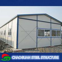 Prefabricated sandwich panel K type emergency house supplier