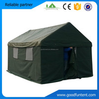 Factory directly supply cotton canvas waterproof tent, 20 person military tents for sale