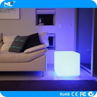 wholesale low price rgb rechargable rgb cube led cube chair/table