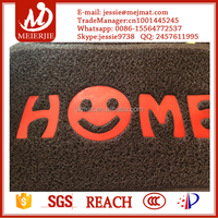 pvc floor carpet/anti-slip door mat/durable and easy cleaning pvc foot mat