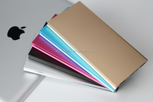 Universal slim manual for power bank 5600mah with dual output ports