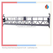 factory suspended access gondola building window cleaning equipment
