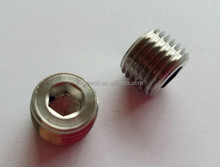 stainless steel blackening NPT male hollow hex plug