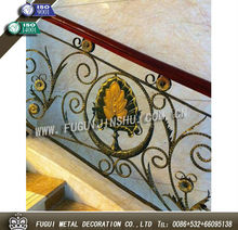 Rustproof wrought iron railings metal railing outdoor stairs(Factory direct)