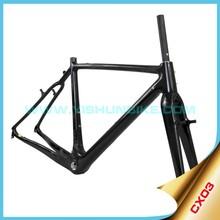 High quality!! 2015 Yishun bike 700C frame carbon cyclocross road bike frame CX03