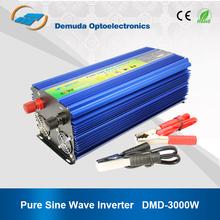 DC 12V 24V TO AC 220V pure sine wave 3kw inverter generator
