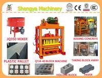 QTJ4-40 Concrete Hollow Brick Block Making Machine/Hollow Block Making Machine/Block Making Machine For Sale In USA