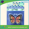 Hot sale Butterfly classic car air freshener