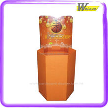 children small basketball cardboard retail dump bin display box